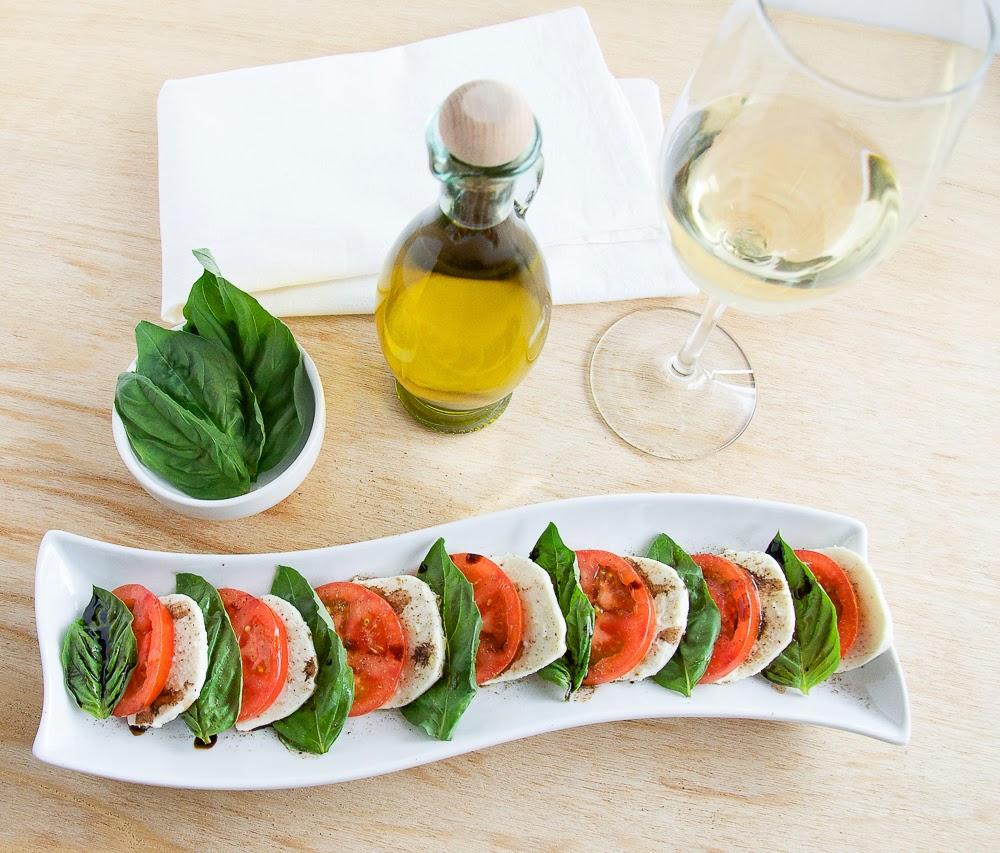 Caprese salad, often called tomato-mozzarella salad is just the ...