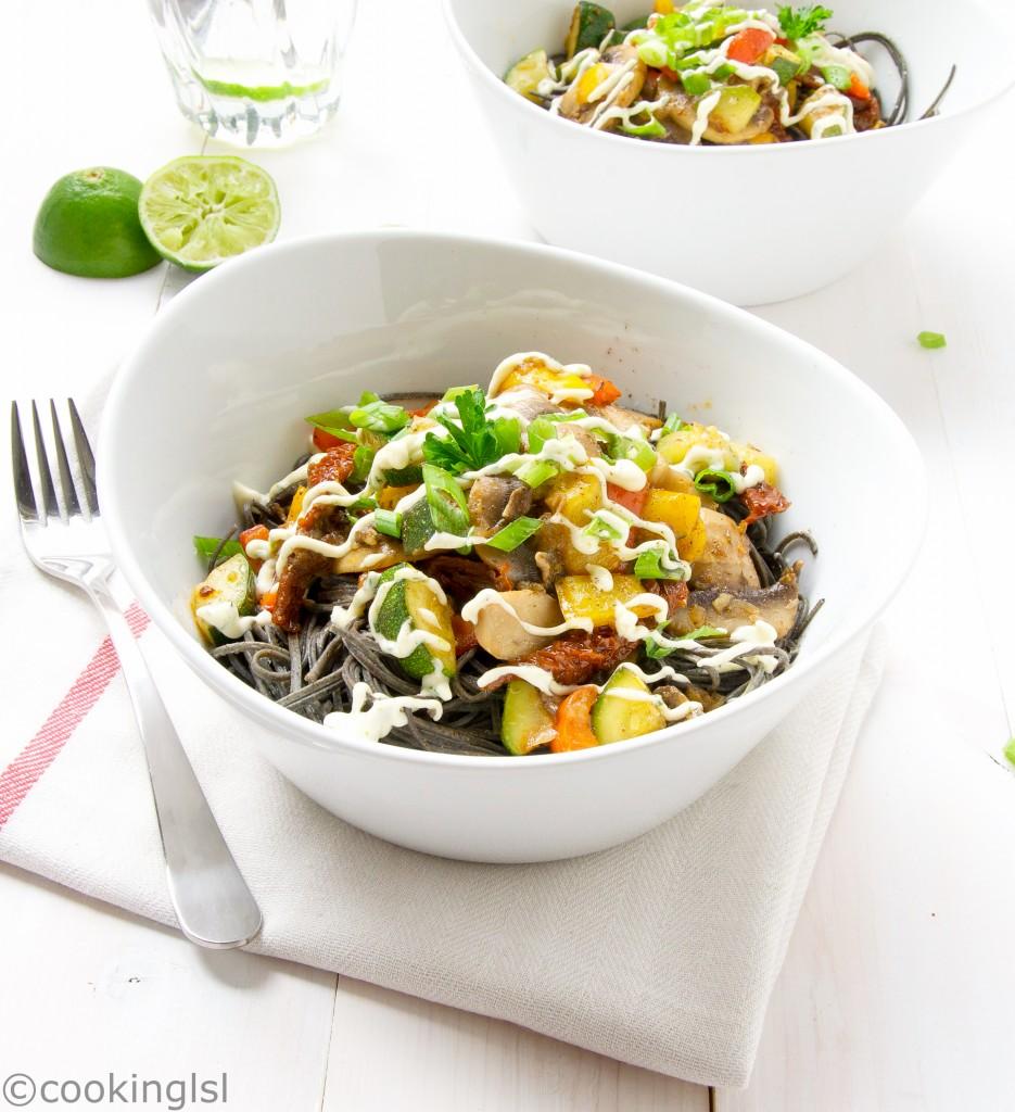 black-bean-spaghetti-recipe-gluten-free-fiber-vegetables