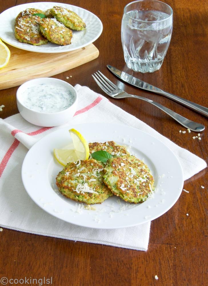 Broccoli-and-Quinoa-Fritters