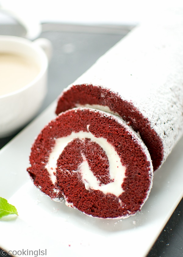 pea s kitchen red velvet cake roll red velvet cake roll pepperminting ...