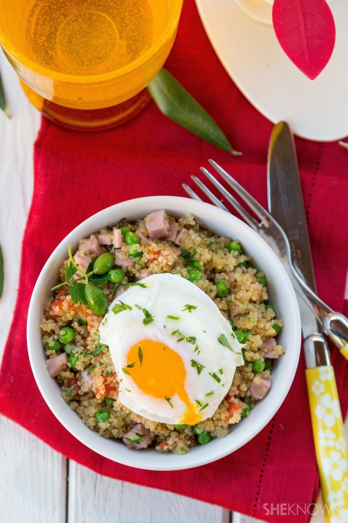 Superfood Filled Quinoa Bowl
