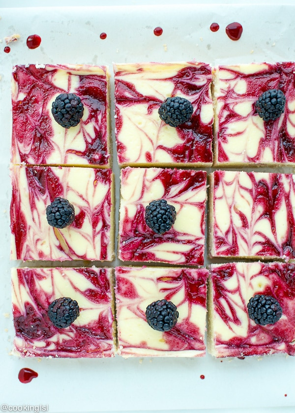 Blackberry-Cheesecake-Bars