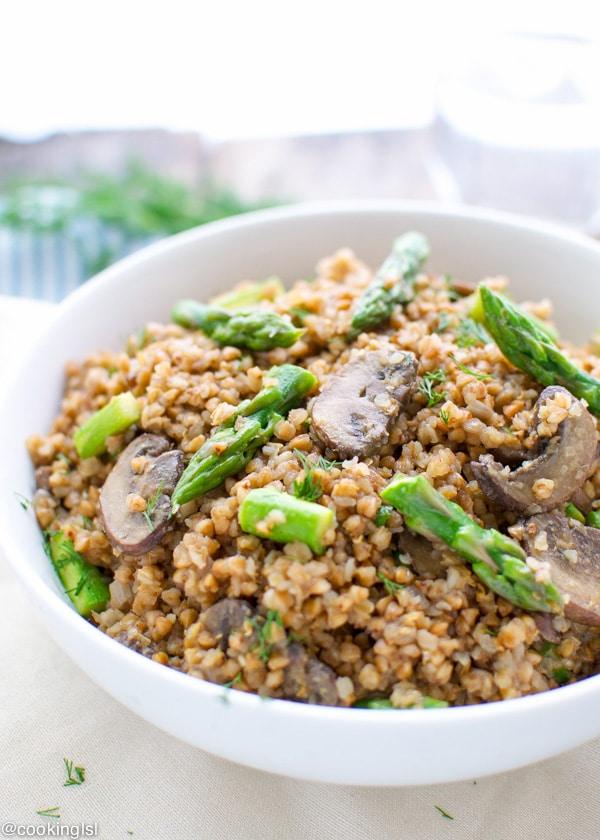 how to cook kasha buckwheat in instapot