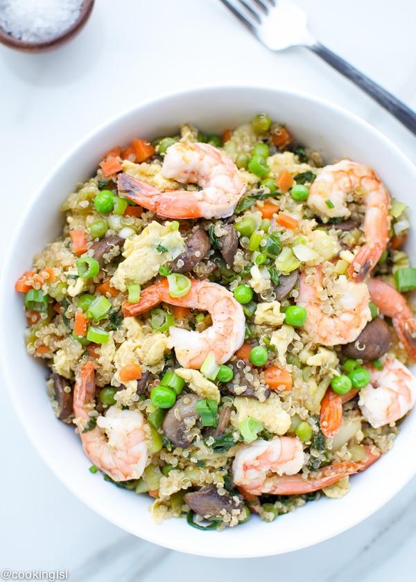 shrimp fried quinoa 2-1