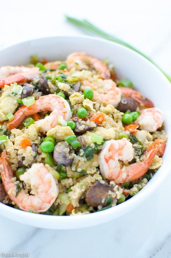 Shrimp-Fried-Quinoa