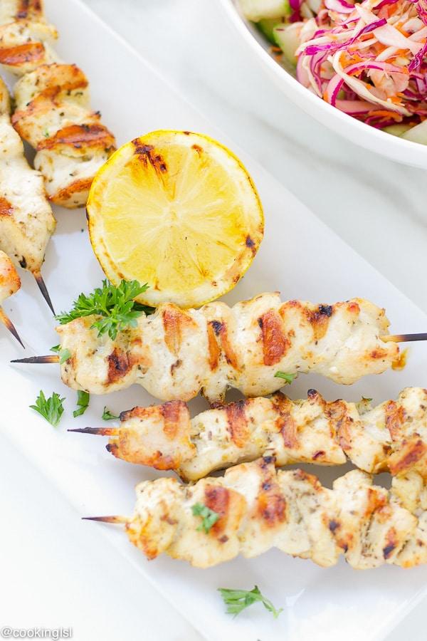 mediterranean-style-chicken-skewers-cabbage-slaw-grilled-tender