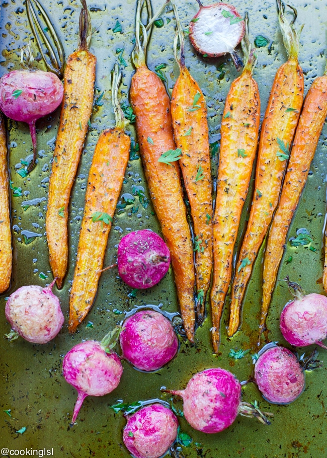 Simple side dish, made in under 40 minutes – roasted carrots and ...