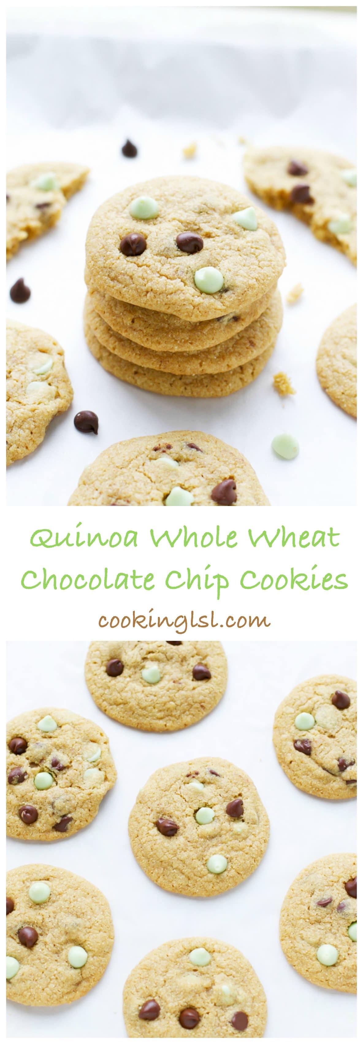 Quinoa Flour Chocolate Chip Cookies