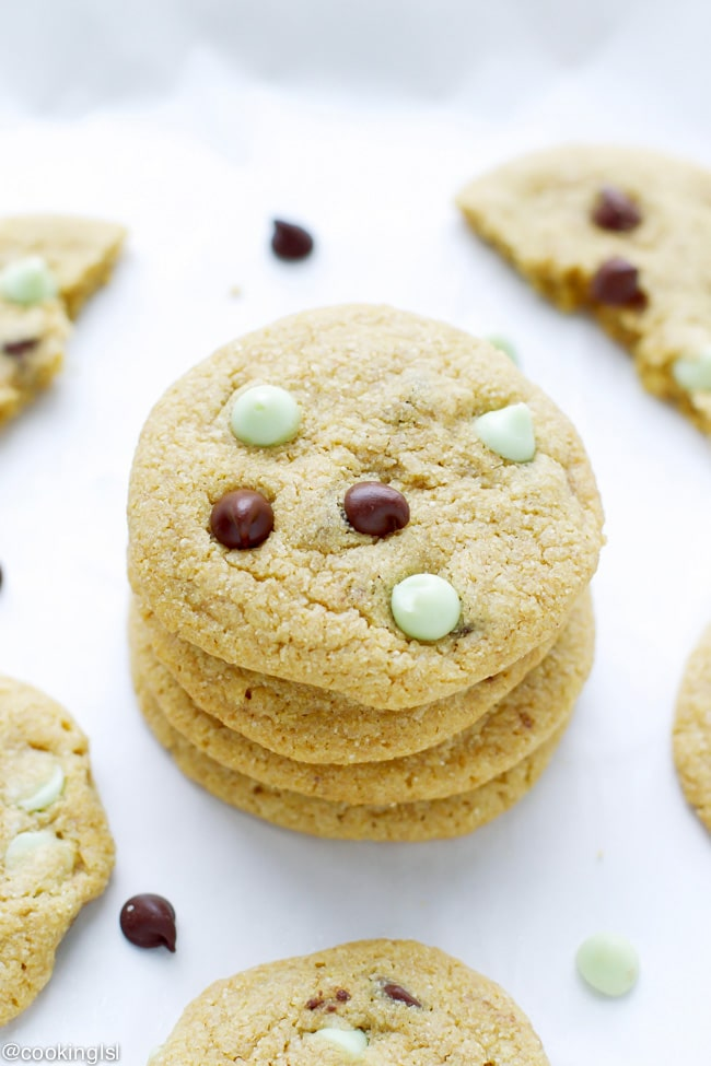 ... chocolate chip cookies, but they have some amazing flavors going on