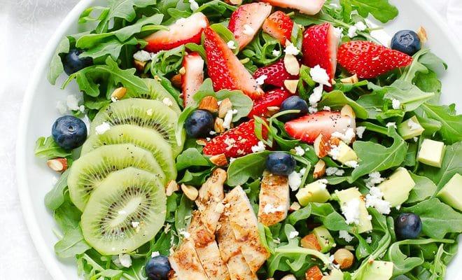 Strawberry Arugula Salad With Poppyseed Dressing Recipe