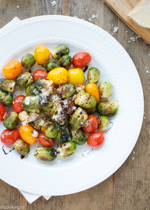 Brussel Sprout Recipes Roasted Balsamic Vinegar